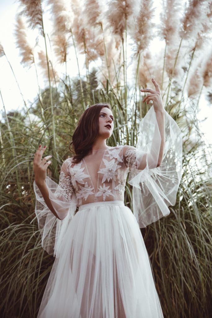 Séance photo mode avec la styliste Céline Philibert Couture - by Paloma Barret
