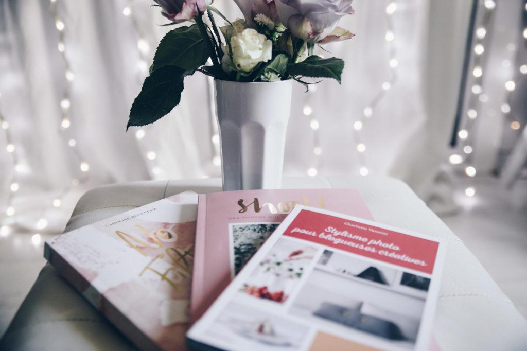 Mes livres du moment pour apprendre la photographie, être créative et croire en moi ! #girlboss www.lesyeuxbleus.net