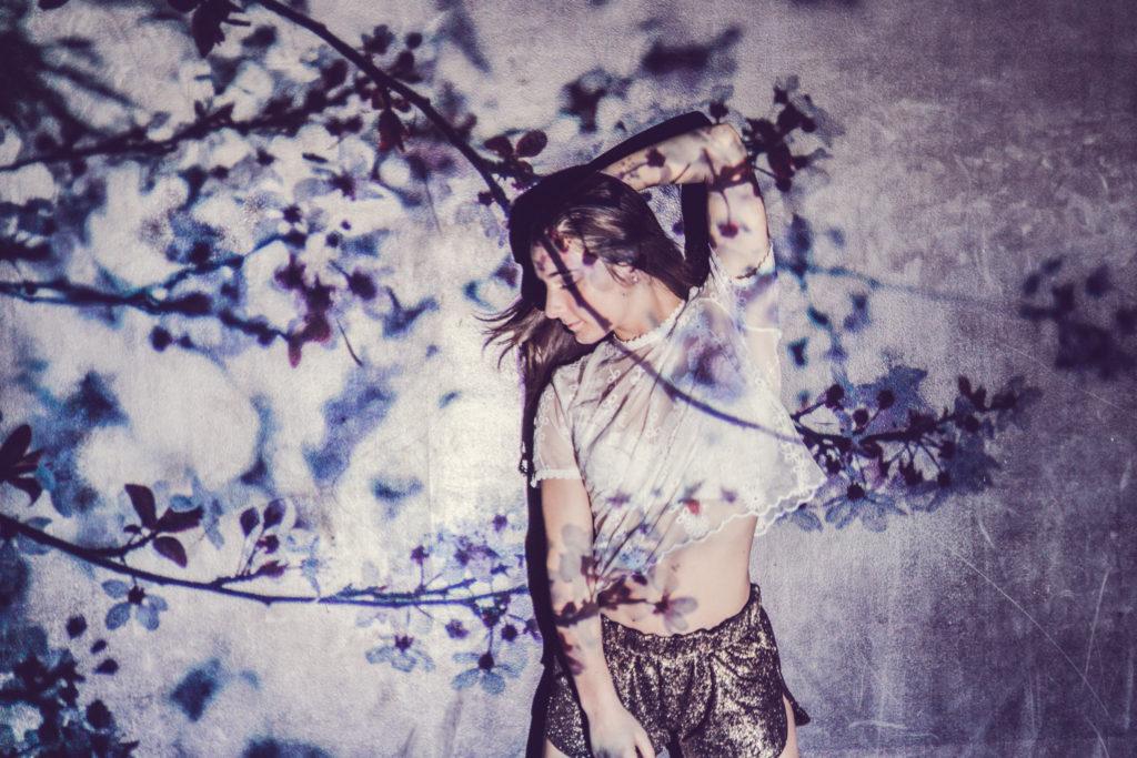 Des photos simples et originales avec un vidéo projecteur - by Paloma Barret - www.lesyeuxbleus.net