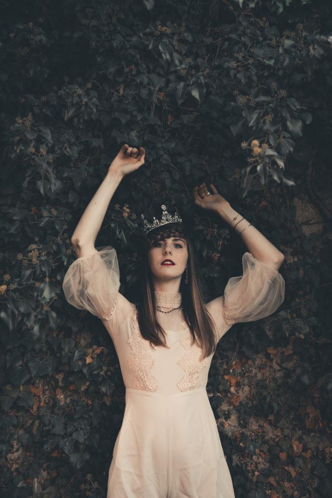 Un Halloween féérique - La princesse et la citrouille - by Paloma Barret - www.lesyeuxbleus.net