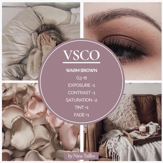 VSCO - idées de filtres sur Pinterest - www.lesyeuxbleus.net