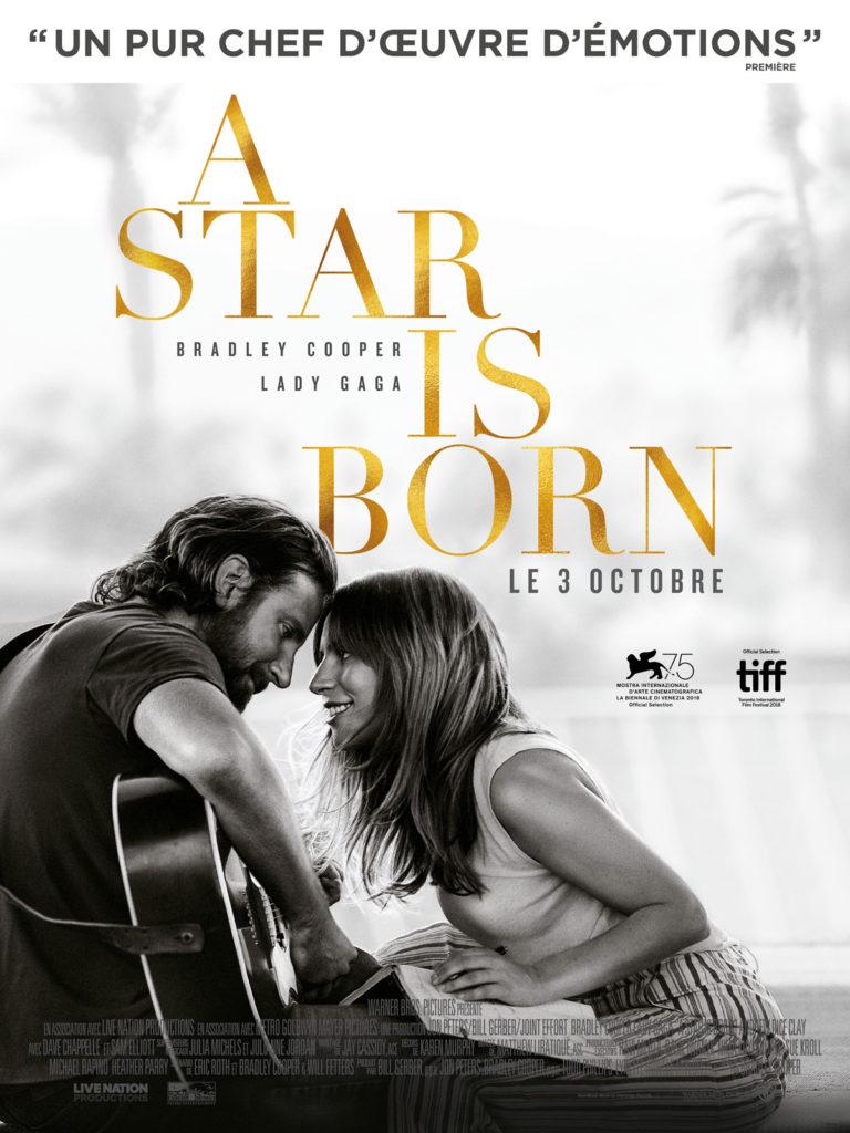Mon nouveau film préféré - A star is born - www.palomabarret.fr
