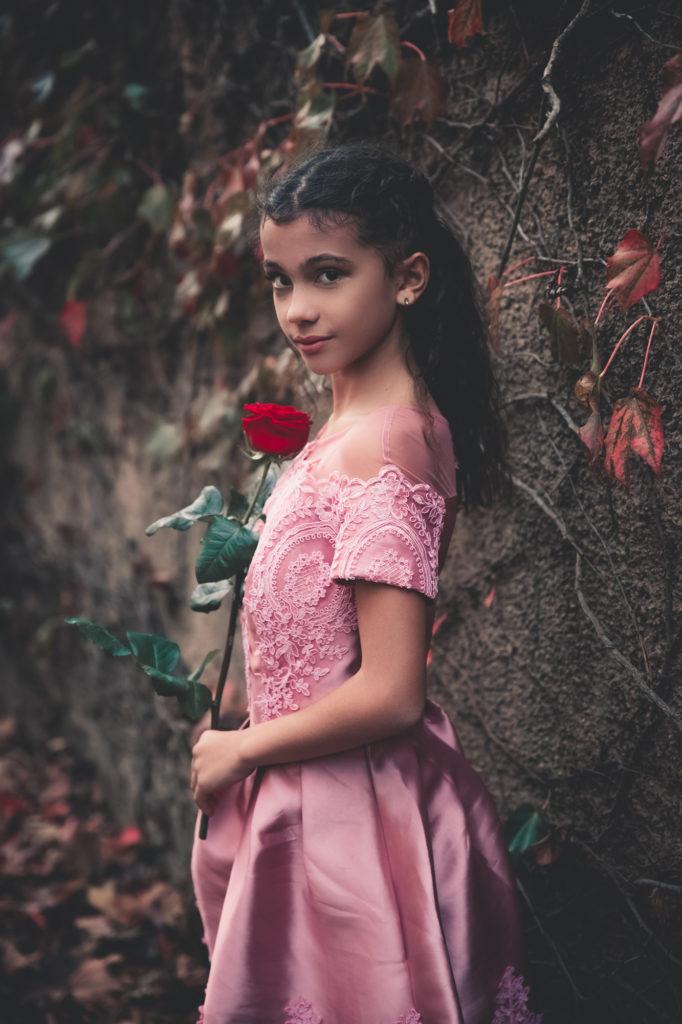 Inspiration La Belle et la Bête - shooting enfant - Paloma Barret -www.lesyeuxbleus.net