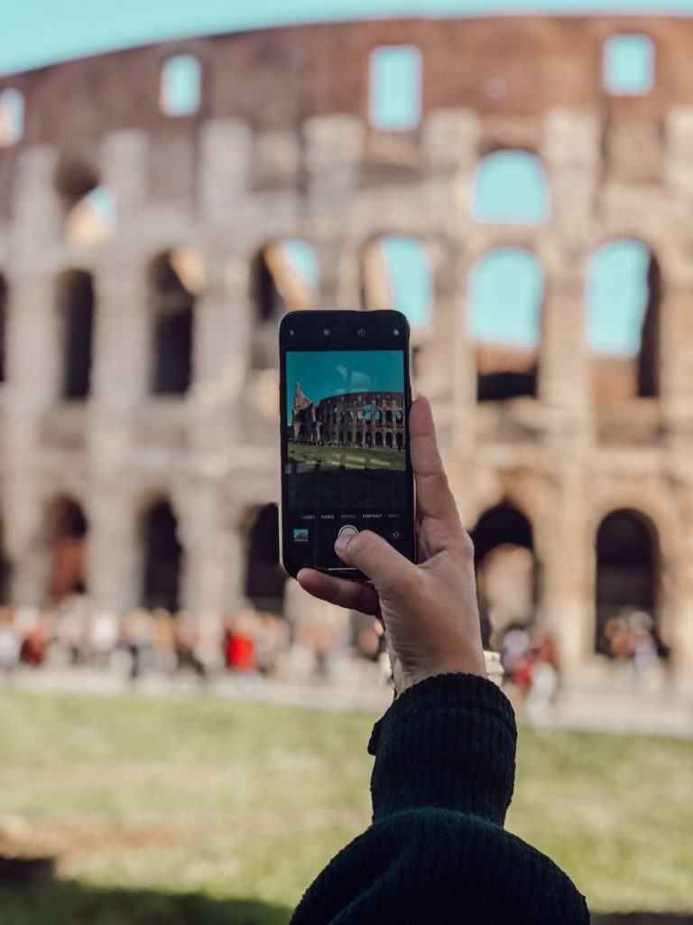 Visite de Rome en 4 jours avec l'iPhone Xr - by Paloma Barret - www.lesyeuxbleus.net